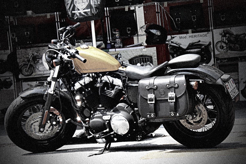 "01 Sacca ""Custom"" Per Harley Sportster"