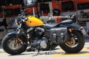 "02 Sacca ""Custom"" Estendibile per Harley Sportster-Dyna"