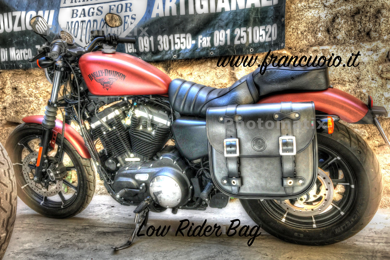 "07 Sacca ""Low Rider""per Harley Sportster"
