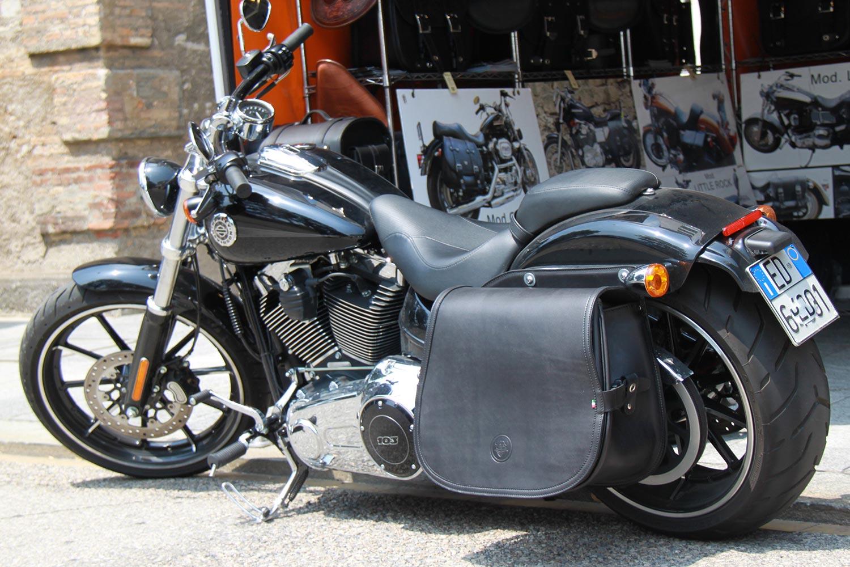 bf205b7749 20 Softail Bag Bar - Franco Cuoio - Borse per Harley