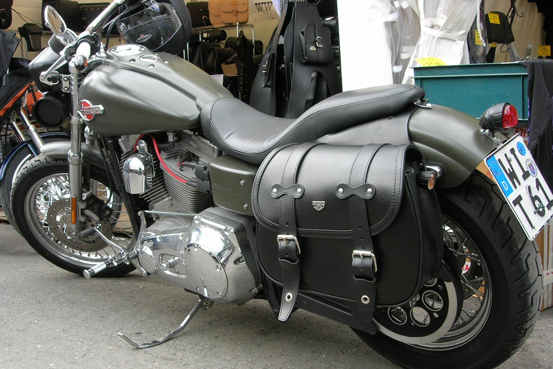 ae656e20c7 11 Custom Bag Coppia - Franco Cuoio - Borse per Harley, Triumph...