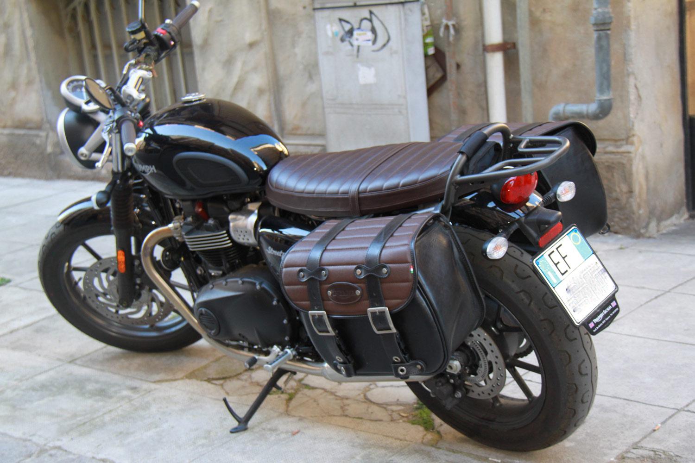 Triumph Thruxton Luggage Rack Triumph Bonneville T100