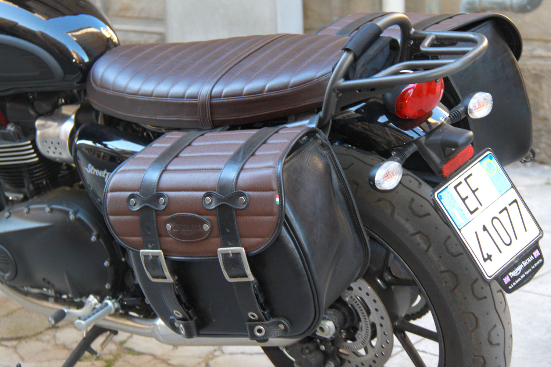 d431239530 11 Custom Scrambler Bag - Franco Cuoio - Borse per Harley, Triumph...