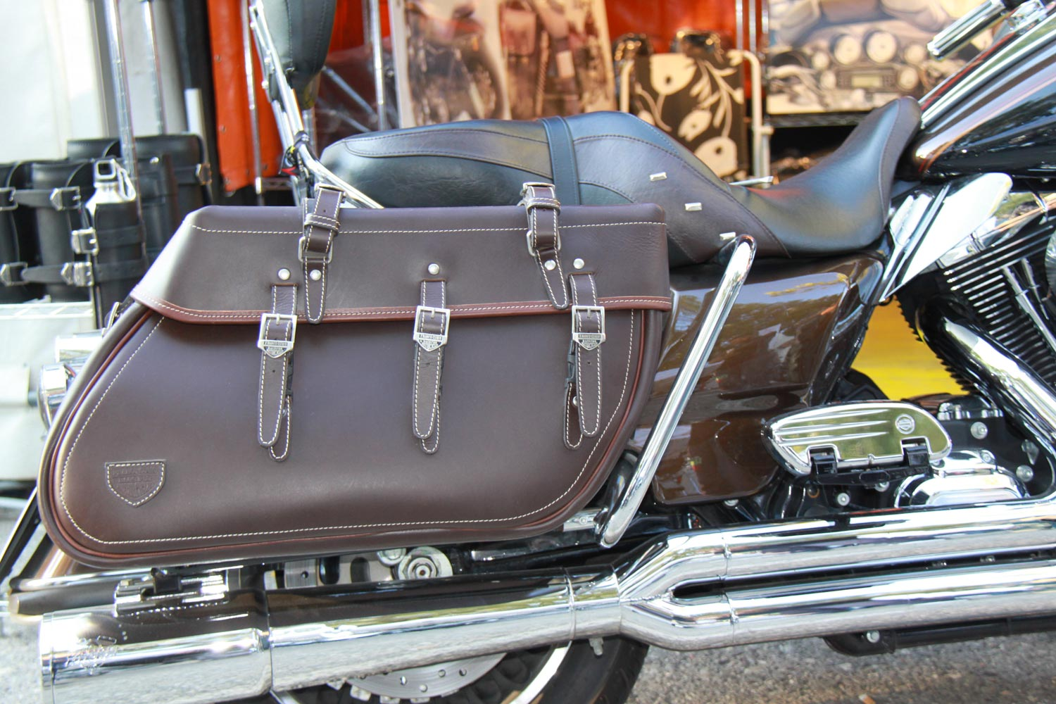 Touring Bag Brown