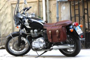 Borsa per Moto – Low Rider Bag – Brown – Triumph