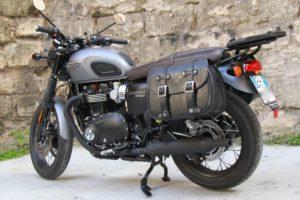 Borsa per moto – Custom Bag – Triumph T100/120 coppia