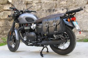 Borsa per Moto – Custom Bag sx – Triumph