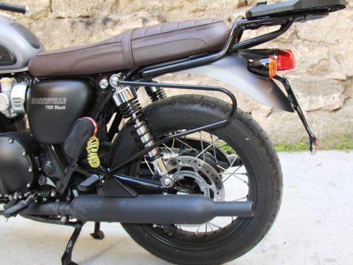 Triumph T120 supporto-sx
