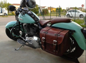Motorcycle Bag – Heritage Bag T.A.M. – HD01 support *