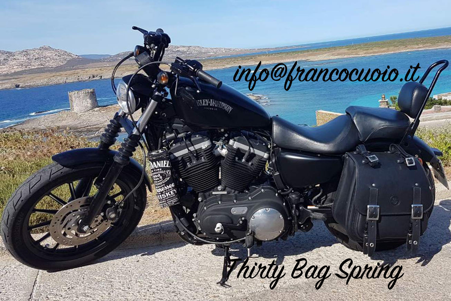THIRTY FIVE BAG Per Sportster
