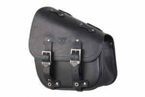 Motorcycle bag – Hollister Bag Black – Harley Davidson Softail