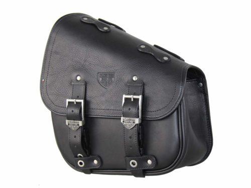 Borsa per moto – Hollister Bag  Black – Harley Davidson Softail