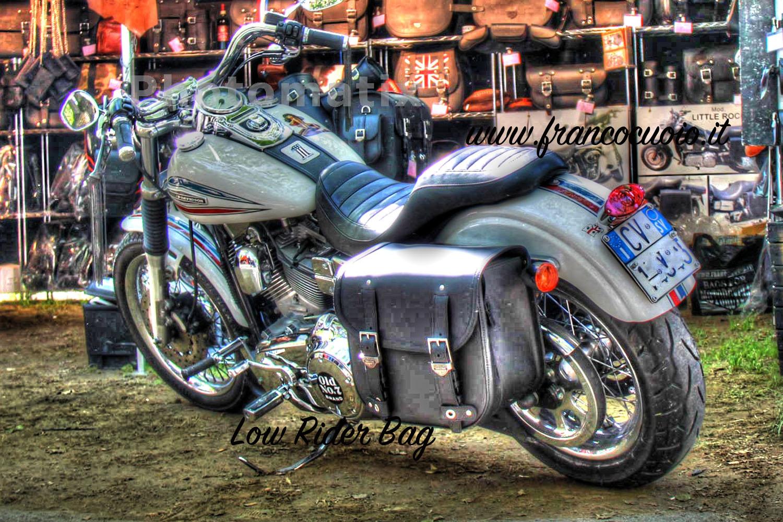 Motorcycle Bag – Extensible Low Rider Bag – Harley Davidson Dyna