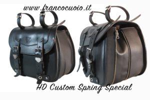 Borsa per Moto – Custom Bag  Sportster Dx – Estendibile – Harley Davidson