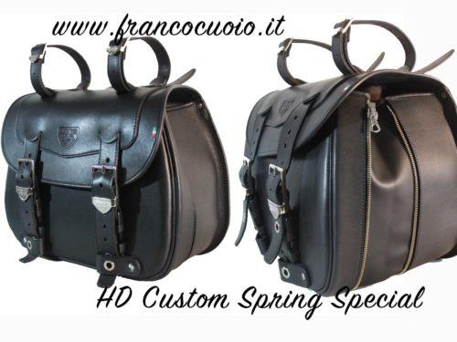 HD Custom Extendable Spring left – Harley Davidson Sportster -⭐⭐⭐⭐⭐-