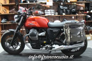 Saddlebag – Roll Bag – Balck – Guzzi V7 3 (+ Quick Release)