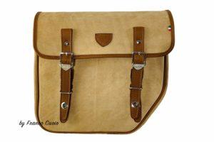BMW – NineT Bag – Brown Suede