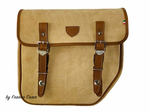BMW – NineT Bag – Brown Suede